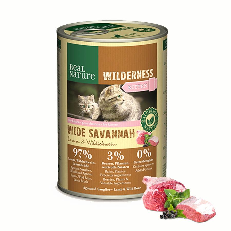Real Nature Wilderness Kitten Wet Food